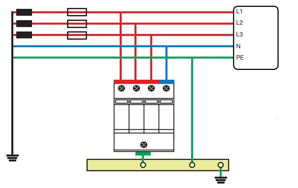 برق گیر 05 لیان الکتریک