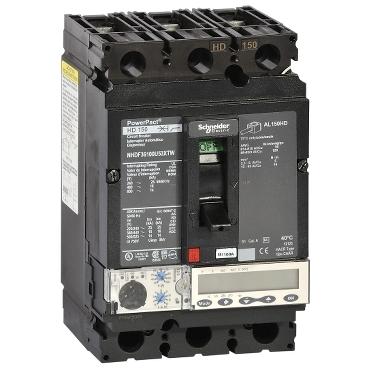 PowerPact Multistandard Molded Case Circuit Breaker (MCCB) 150 A