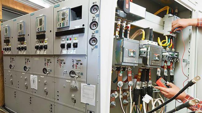 تابلو برق های ولتاژ بالا
